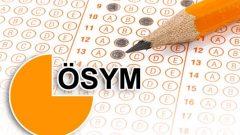 ÖSYM'den Sınav Sistemi Değişikliği