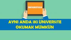Sınavsız İkinci Üniversite Bölümleri (2016-2017)