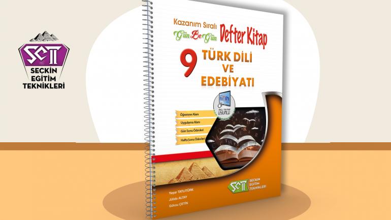Set 9. Sınıf Türk Dili ve Edebiyatı Gün Be Gün Defter Kitap