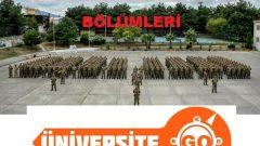 Milli Savunma Üniversitesi Bölümleri Açıklandı