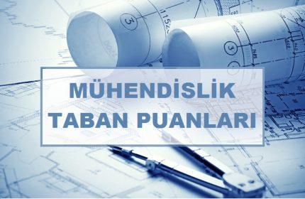 2021 Tüm Mühendislik Bölümlerinin Taban Puanları ve Başarı Sıralamaları