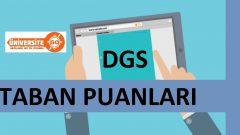 2017 DGS Taban Puanları (2016-2017)