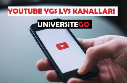 YOUTUBE DERS KANALLARI ÖNERİSİ