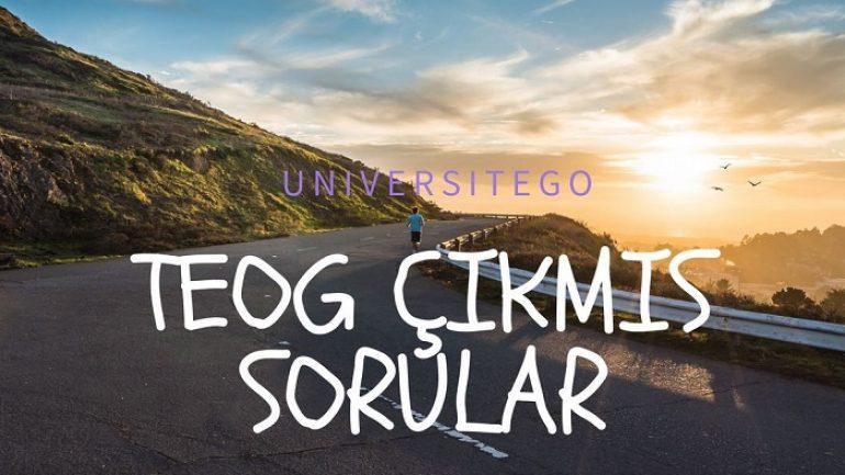26-27 Nisan TEOG Soru ve Çözümleri