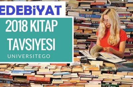 2018 Edebiyat Kitap Tavsiyesi LYS