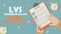 LYS Deneme Sınavları Nasıl Analiz Edilmeli ? (LYS deneme analizi)