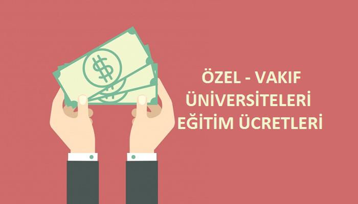 2021 ozel universite ucretleri