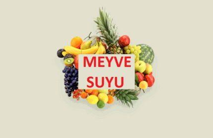 Meyvelerden Ne Kadar Meyve Suyu Çıkar ?