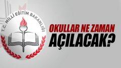 2017 – 2018 Okullar Ne Zaman Açılıyor? MEB tarih verdi!