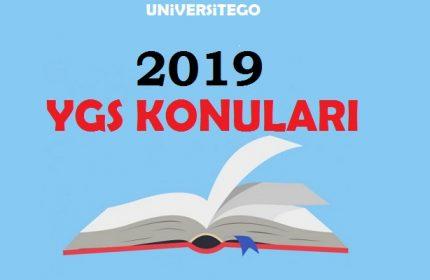 2019 YGS Konuları ve Soru Dağılımı ( ÖSYM)