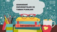 Adana'daki Üniversiteler ve Taban Puanları