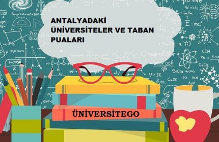 Antalya'daki Üniversiteler ve Taban Puanları