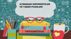Aydın'daki Üniversiteler ve Taban Puanları