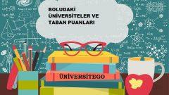 Bolu'daki Üniversiteler ve Taban Puanları