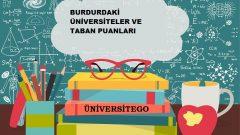 Burdur'daki Üniversiteler ve Taban Puanları