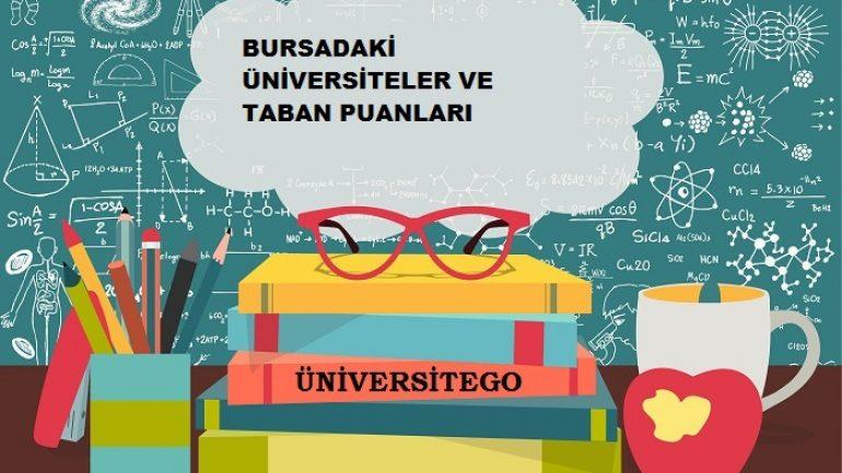 Bursa'daki Üniversiteler ve Taban Puanları
