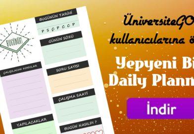 ÜniversiteGO Daily Planner – Günlük Planlayıcı İndirin