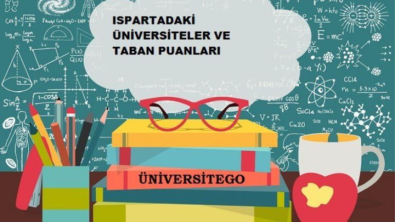 Isparta'daki Üniversiteler ve Taban Puanları