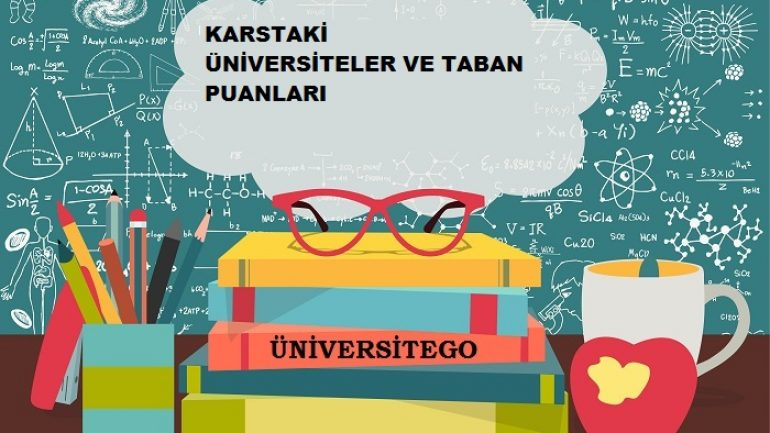Kars'daki Üniversiteler ve Taban Puanları