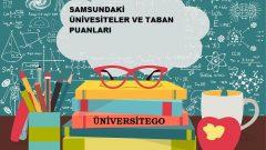 Samsun'daki Üniversiteler ve Taban Puanları