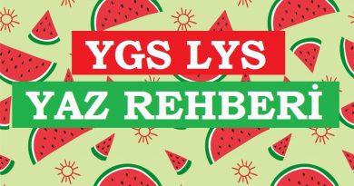 ÜniversiteGO YGS LYS Yaz Rehberi