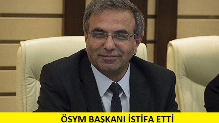 Son dakika! ÖSYM Başkanı Ömer Demir istifa etti