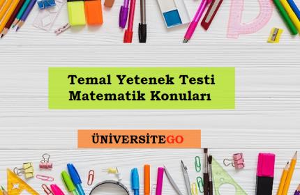 TYT Matematik Konuları-Soru Dağılımı 2018 (ÖSYM-YÖK)
