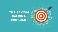 2018 YKS Sayısal MF Çalışma Programı