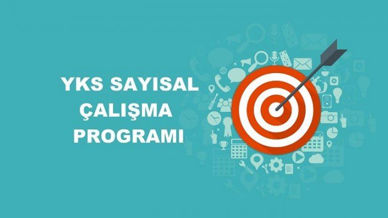 2019 YKS Sayısal MF Çalışma Programı