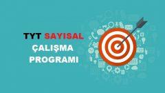 2018 TYT Sayısal MF Çalışma Programı