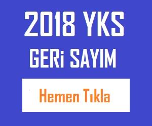 2018 YKS GERİ SAYIM