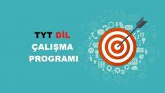 2020 TYT Yabancı Dil Çalışma Programı