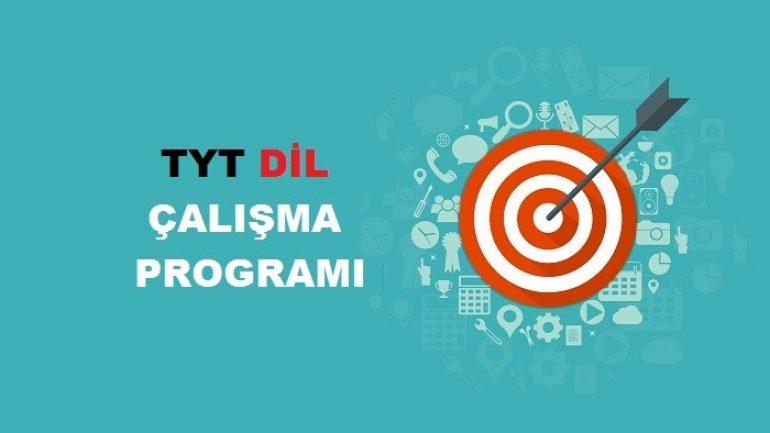 2019 TYT Yabancı Dil Çalışma Programı