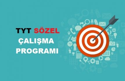 2019 TYT Sözel TS Çalışma Programı