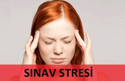 SINAV STRESİ NASIL YENİLİR ?