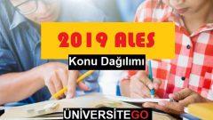2019 ALES Konu Dağılımı (Güncel)