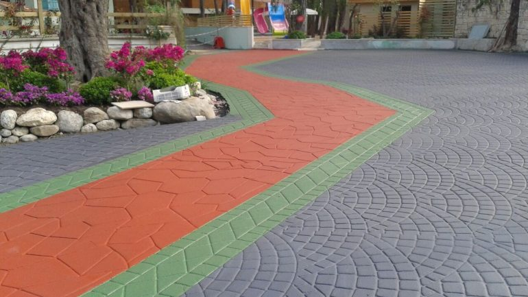Renkli ve Desenli Asfalt Ürünleri