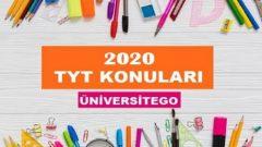 2020 TYT Biyoloji Konuları-Soru Dağılımı (ÖSYM-YÖK)
