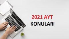 2021 YKS Konuları ve Soru Dağılımı ( ÖSYM – YÖK )