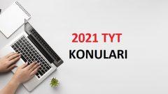 2021 TYT Coğrafya Konuları-Soru Dağılımı (ÖSYM-YÖK)