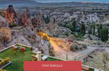 Kapadokya Balayı Otelleri İçin Taşkonaklar